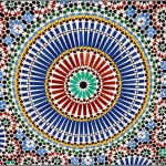 Moroccan Mosaic from Marrakesh