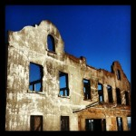 Warden's quarter's at #alcatraz #grunge #decay #oldbuildings