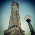 Lighthouse tower at #alcatraz #lighthouse