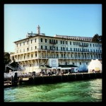 Ferry docking at #alcatraz island  #therock #prison #island