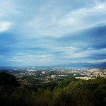 Storms k landing over san padro valley #clouds #valley #landscape
