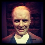 Hello clarice :) wax figure of Hannibal lector #horror #cannibal #Hannibal #Hopkins #movies