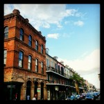 Decatur road in #French quarter of #neworleans