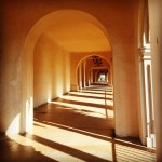 Archways at balboa park  #shadows #curves #arches