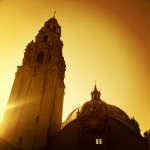Mexican architecture at balboa park.  #gold #Mexican #buildings #architecture