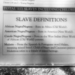 Slave definitions back in the hey days of oak alley.  #history #Louisiana #slavery