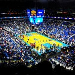 1St ever NBA game. #hornets home game. Too bad they got owned #NBA #basketball #hornets