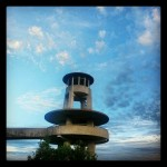 Lookout tower deep within the #everglades in #Miami